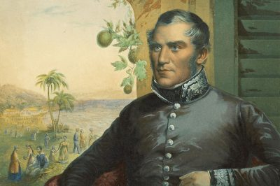 George_Pritchard, Her Britannic Majesty's Consul (Tahiti 1845) by George Baxter