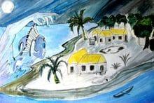 Tukipaia, le tupapa'u coiffé de corail de Hao