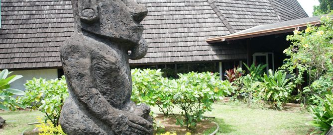 Sculpture tahiti heritage - Office du tourisme tahiti ...