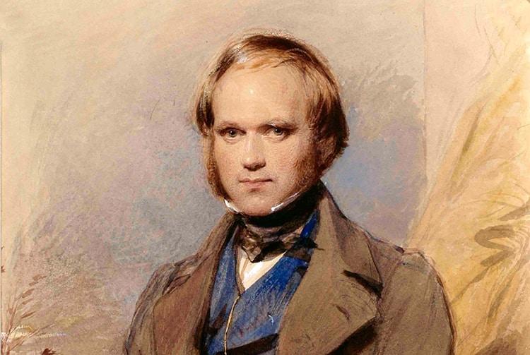 Le naturaliste Charles Darwin à Tahiti en 1835