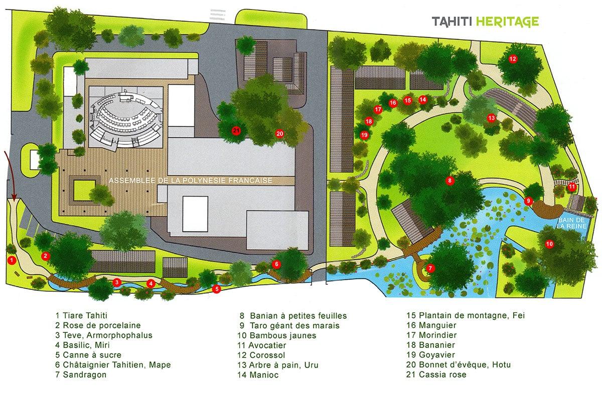 jardins de la reine aimata pomare iv papeete tahiti. Black Bedroom Furniture Sets. Home Design Ideas