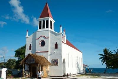 Eglise Saint-Michel de Avatoru, Rangiroa © Tahiti Heritage 2016