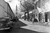 Rue Jeanne d'arc, anciennement de la cathédrale à Papeete
