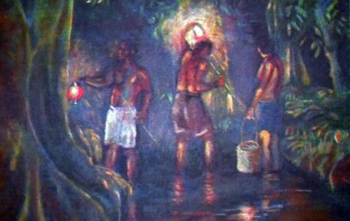 Pape ava, la source d'eau gazeuse de Hitiura - Faaroa