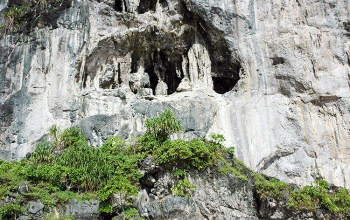 Grotte de la princesse espagnole à Makatea.