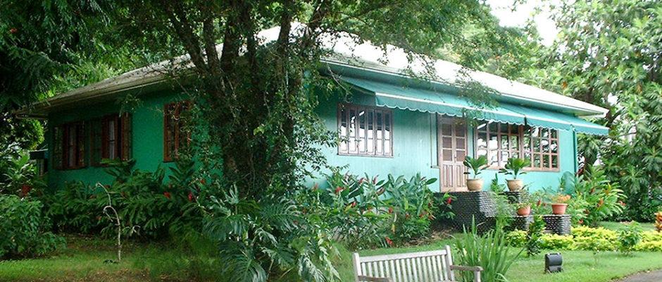Maison et musée Norman Hall, à Arue Tahiti. © Tahiti Heritage