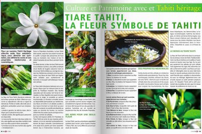 Tiare Tahiti dans Fenua TV