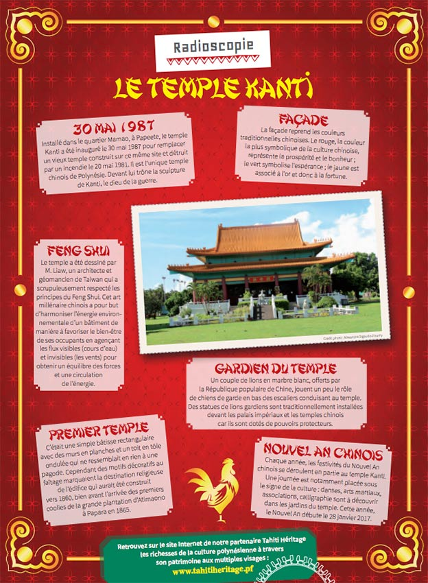 Honuatere 4 - le temple chinois