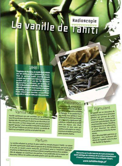 Honuatere 4 - la vanille de Tahiti